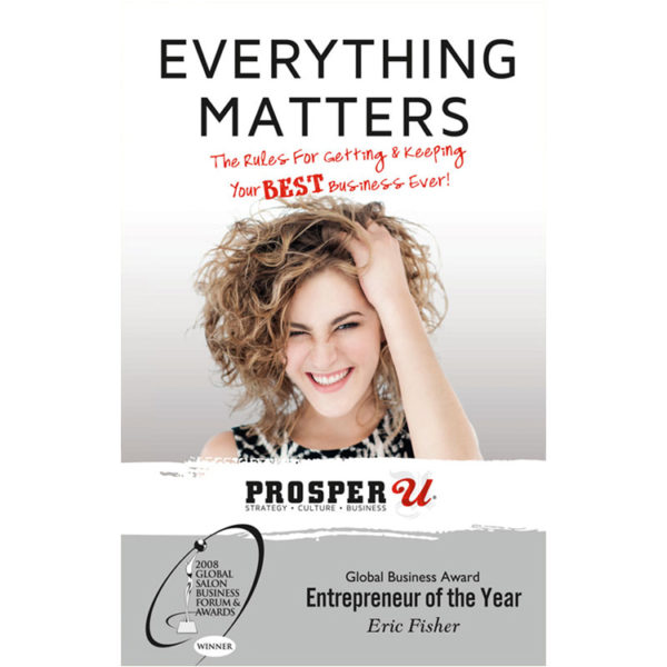 Photo of the Everything Matters book by Eric Fisher