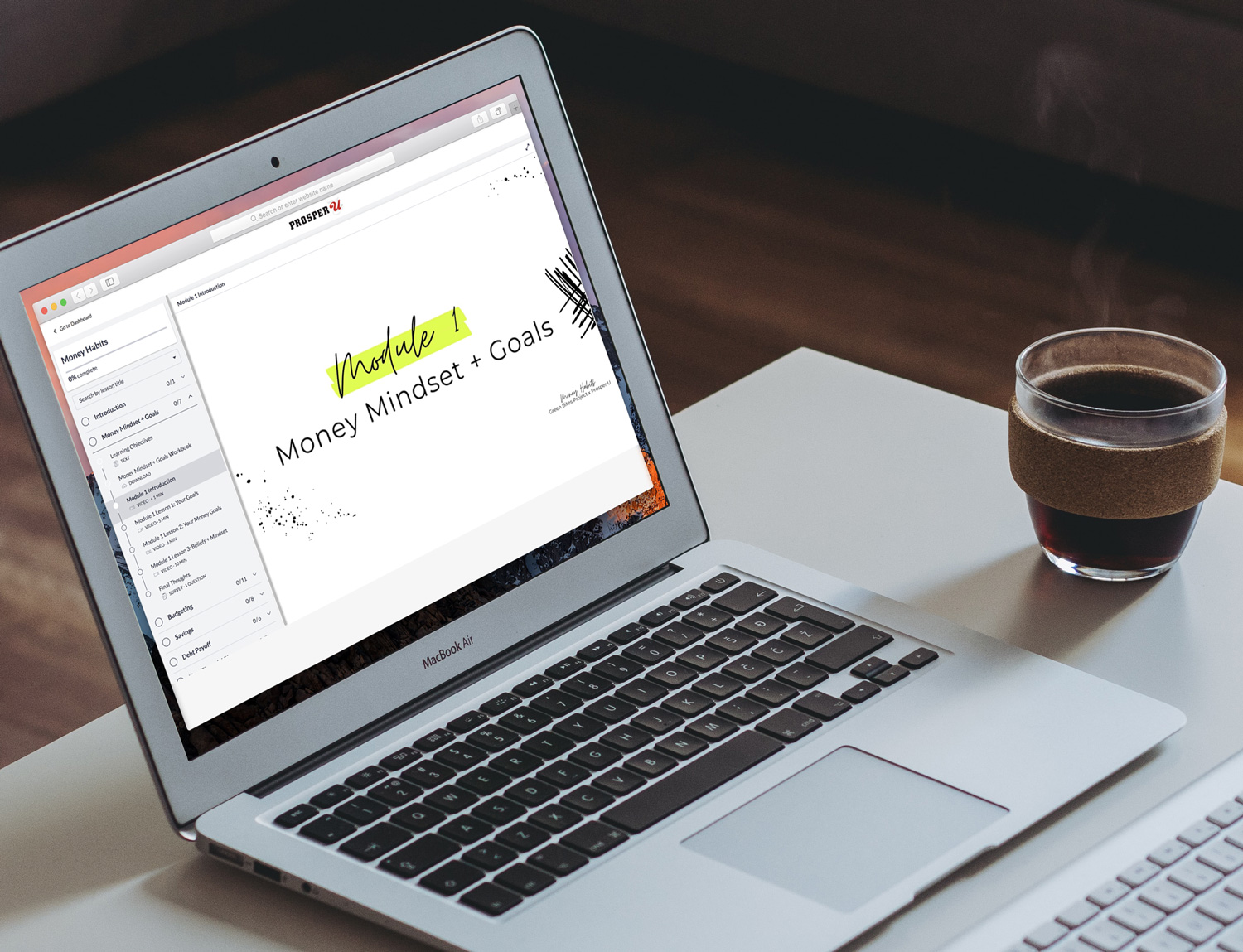 Image of the Money Habits online financial literacy program for the beauty industry
